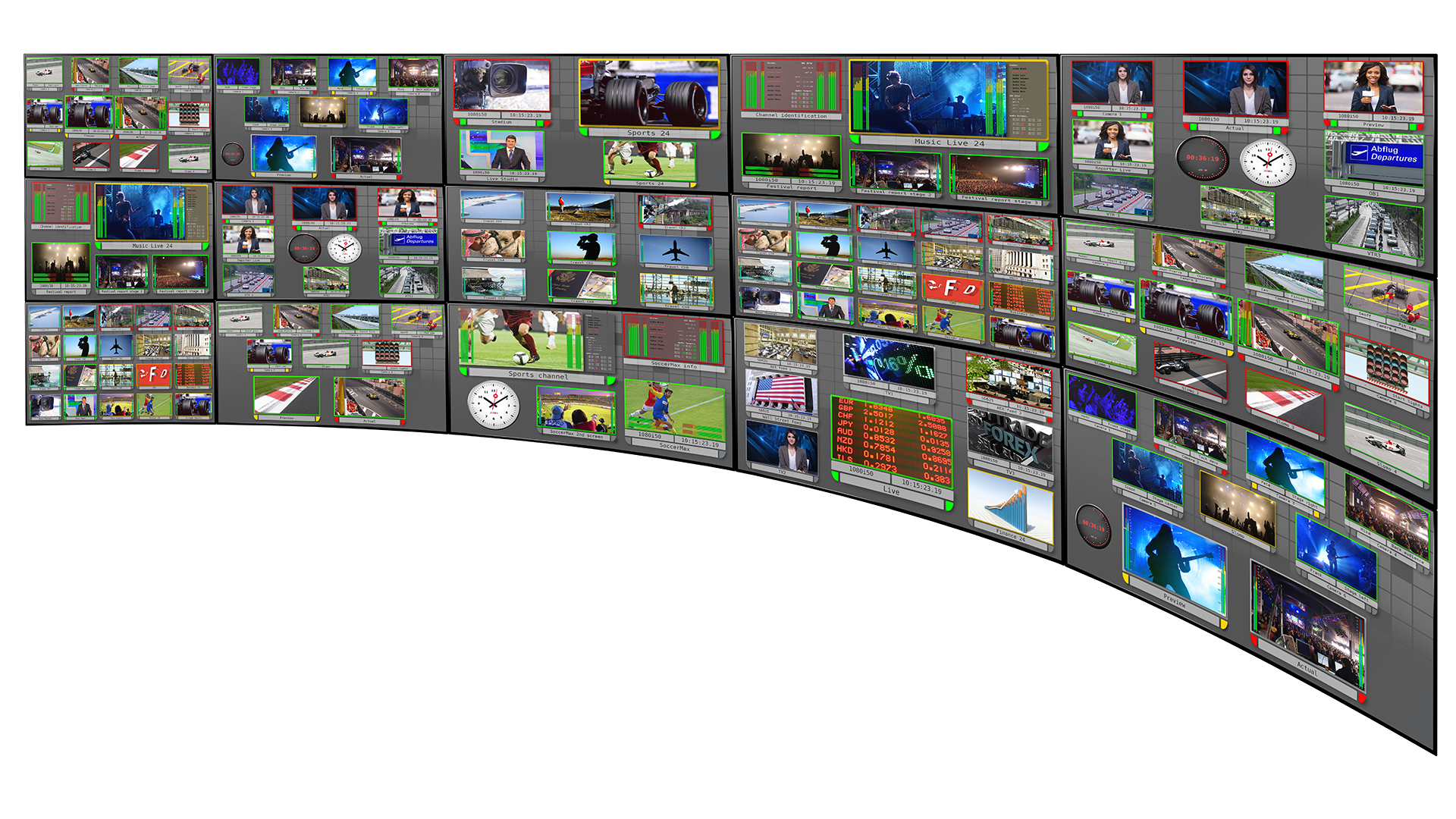 New Multiviewer Supports 4K & IP production