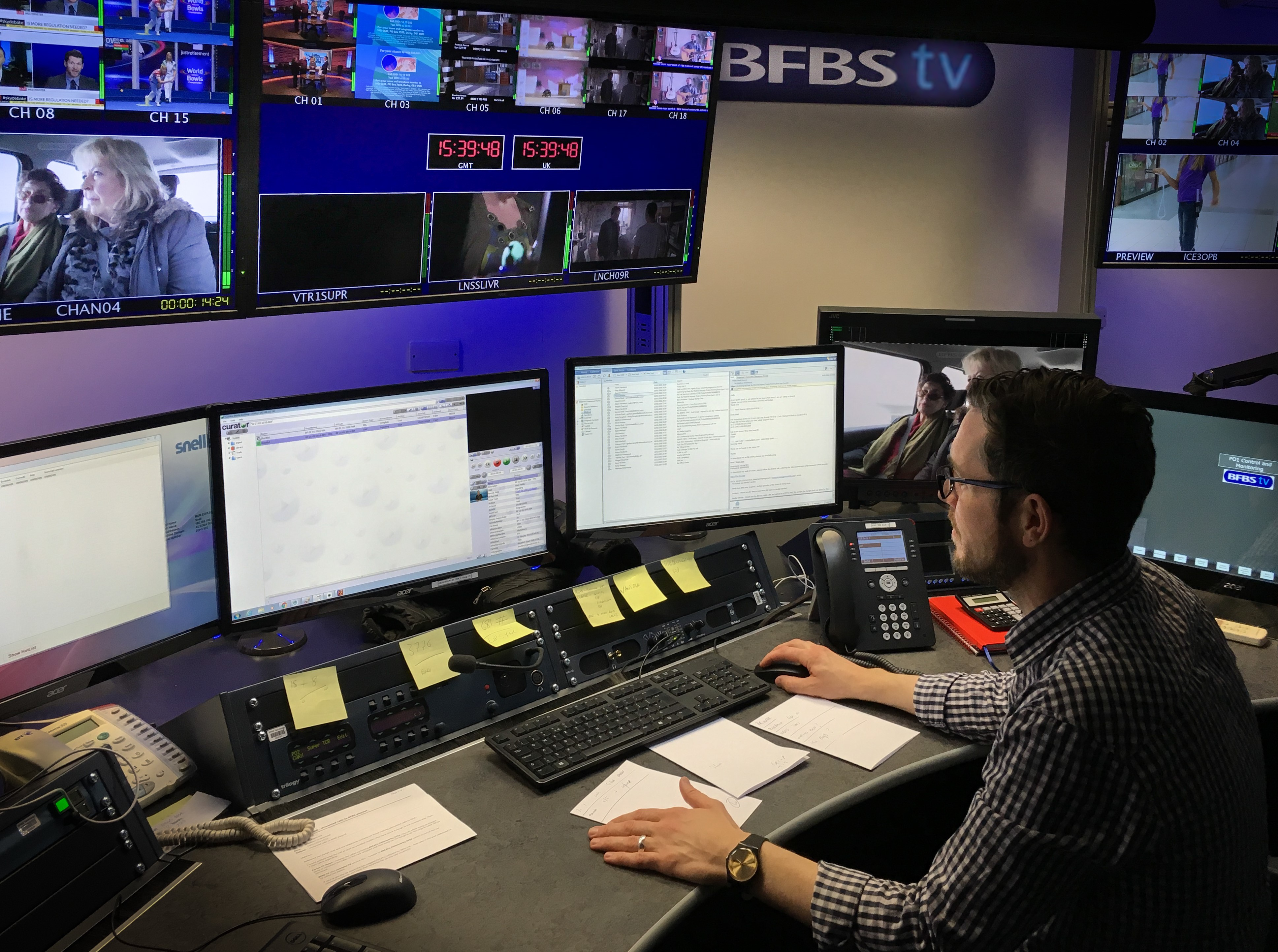 BFBS strengthens playout with Axon
